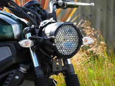 XSR700 headlight guard Evotech