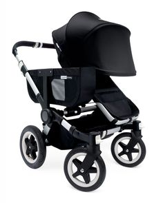 Donkey Extended Sun Canopy, Off White - Bugaboo