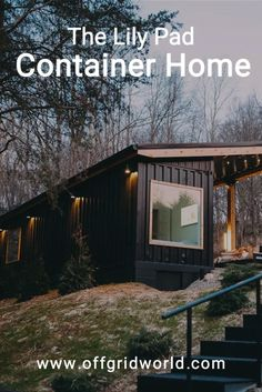 The covered patio with its vaulted ceiling more than doubles the living space for this amazing shipping container home. With lots of seating, a grill, and even a hot tub, it's the perfect place to spend summer evenings. #shippingcontainerhome #containerhome #sustainable #offgrid #tinyhouse #shippingcontainer Shipping Container Homes, Shipping Containers, Eco Homes, Sustainable Living, Survival Skills, Simple Living, Perfect Place, Homesteading, Sustainability