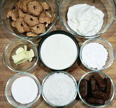 Sernik Bounty z polewą z białej czekolady - Stonerchef Cookies, Fit, Crack Crackers, Shape, Cookie Recipes, Biscotti, Fortune Cookie, Cakes