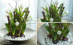DIY: ausgefallene Blumendeko für den Frühling Deko Kitchen