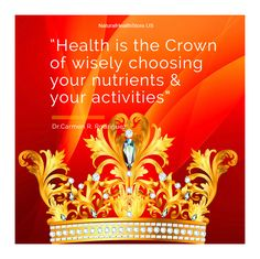 """30 Challenges for 30 days! September 4th: Share your favorite health or nutrition quote  """"Health is the crown of wisely choosing your nutrients and your activities"""" Dr.Carmen Rodriguez  Join us – If …Never Tried NSP Products? we want to give you the opportunity to try one at no cost. Simply…  http://blog.naturessunshine.com/en/contest/?sponsor=571973   #NaturesSunshine  #HealthyLife"""