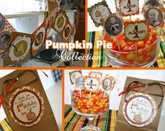 DIY Printable PUMPKIN PIE Mini Party Collection by moomootutu, $18.00