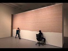 """Time Lapse of Sol LeWitt's """"Wall Drawing #797"""" at the Blanton Museum of Art - YouTube"""