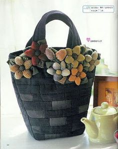 Japanese Patchwork, Japanese Bag, Patchwork Bags, Quilted Bag, Fabric Purses, Fabric Bags, Bag Quilt, Handmade Purses, Cloth Bags