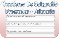 Cuaderno de caligrafía para preescolar y primaria - http://materialeducativo.org/cuaderno-de-caligrafia-para-preescolar-y-primaria/