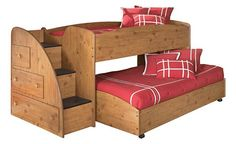 Gregory saw this at Ashley furniture and wants for Christmas. He classes it a Bunker Bed My worry is he will be 7 at Christmas and will soon out grow this style of bed. It is very short!!!