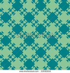 Seamless pattern of geometric shapes. Kaleidoscope. Triangles and squares. Geometric background. Image can be repeated or tiled without visible seams.