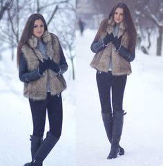 Snowed In (by Nika H) http://lookbook.nu/look/3080133-Snowed-In