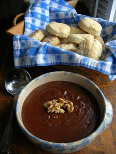 Chocolate Gravy..you have to have biscuits, of course.