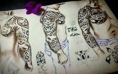 Полинезийская татуировка Polinesian tattoo