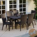 Christopher Knight Home Brooke 7-piece Outdoor Dining Set   Overstock.com Shopping - The Best Deals on Dining Sets