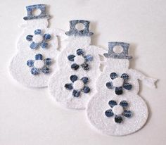 Snowman Tags, Christmas Snowman and Children Tags, Holiday Gift Tags ...