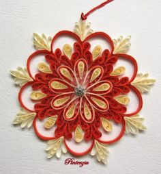 580 best Quilling ( Christmas Flowers,