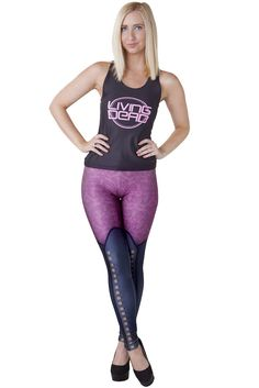 M - LDC Racket Leggings - LIMITED