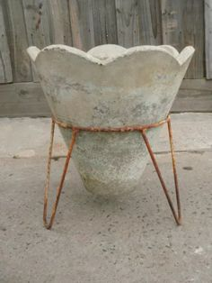 Concrete Pots, Garden Ornaments, Metal Furniture, Outdoor Gardens, Gardening,  Patio, Plants, Link, Pathways