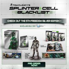 A,B,C...Games: Splinter Cell: Blacklist; la 5th Freedom Collector's Edition