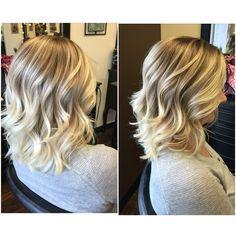 Hi-lights and beach curls