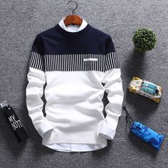 Korean Fashion Cardigan Jacket Jumper Men Knit Pullover Coat Long Sleeve Sweater | Clothing, Shoes & Accessories, Men's Clothing, Sweaters | eBay!