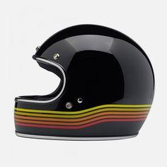 Biltwell Gringo Spectrum helmet.