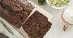 Moist, flavorful zucchini bread with a chocolate twist: dark cocoa in the batter, and chocolate chips studded throughout.
