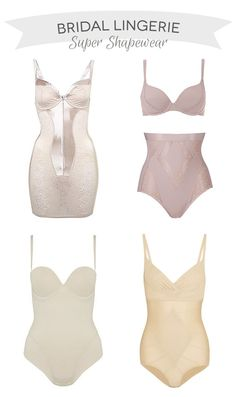 Bridal Lingerie   Super shapewear for the big day   www.onefabday.com