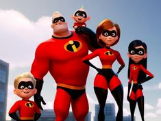 Disney Films, Pixar Movies, Disney And Dreamworks, Disney Characters, Disney Incredibles, The Incredibles 2004, Disney Magic, Disney Art, Walt Disney