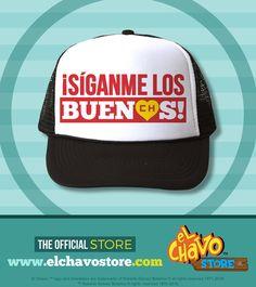 El Chapulín Trucker Hat - Siganme 72f37dcebc6