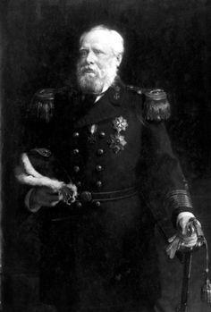 Staatsieportret van Willem III [Alexander Paul Frederik Lodewijk 1817-1890], Koning der Nederlanden. Plaats en datum onbekend. Persoonsnamen Willem III, koning