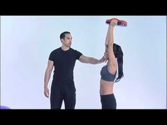 Workout Exercises - Triceps Overhead Extensions Using The Ab-Mxr