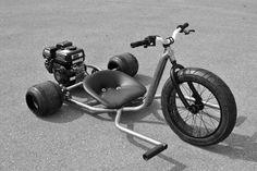 R2 Gas Powered Drift Trike