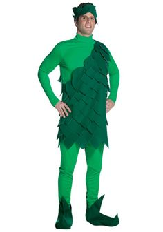 jolly green giant - Green Halloween Dress