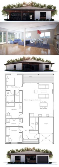 Planta de Casa Pequena: