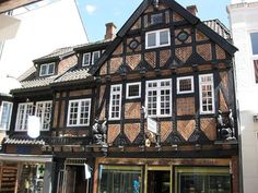 The old town in Vejle, Denmark