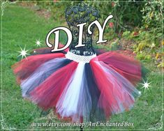 Pirate inspired princess dress for 18 american girl doll 15 diy pirate tutu kit in black red white for sassy skirt girls teens teenagers dressup gown tutu costume full skirt for do it yourself solutioingenieria Image collections