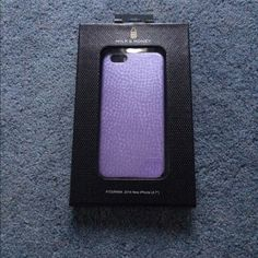 Milk and Honey iPhone 6 phone case Brand new in box, never used milk and honey iPhone 6 case in purple Milk and Honey  Accessories Phone Cases