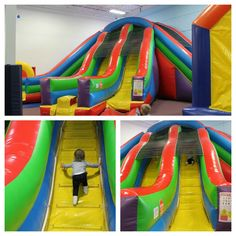 2016 Update: This venue has closed permanently. Take me to the Momsense. Apparently Shawna and I had the same idea for kids activities last week. She took Boo to Inflatable… Bristol, Activities For Kids, Park, Fun, Fin Fun, Parks, Kid Activities, Petite Section, Lol