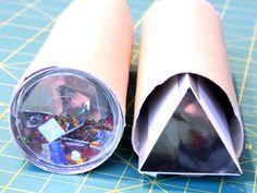 Kaleidoskop, Anleitung, Basteln, selber machen, Caleidoscope,