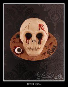 Ed the Skull cake