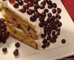 Champagne Grape Cake – Sweet, Delicious & Appealing
