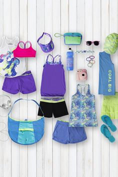 The summer essentials guide loaded with technical tanks, shorts and accessories for all your adventures. | ivivva