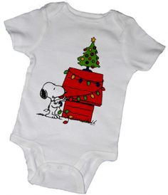 gifts for baby snoopy christmas onsie etsy
