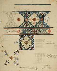 Islamic Art Pattern, Pattern Art, Pattern Design, Textile Patterns, Print Patterns, Carillons Diy, Illustration Art, Illustrations, Calligraphy Art