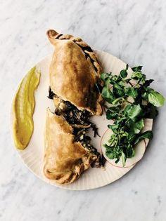 My veggie pasties Jamie Oliver vegetable recipes Mushroom Recipes, Vegetable Recipes, Vegetarian Recipes, Cooking Recipes, Vegetarian Cooking, Jamie Oliver, Vegetarian Pasties, Olivers Vegetables, Arrows