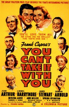 Frank Capra's You Can't Take It With You - Jimmy Stewart & Jean Arthur