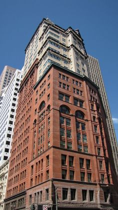 's oldest edifices have been adorned with a new skin, like the De Young Building. San Francisco Architecture, San Francisco California, Commercial Architecture, Romanesque, Brick Wall, Where To Go, Architecture Design, Restoration, Old Things