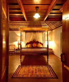 Bedroom at the Pool Villa, Orange County, Coorg by Orange County Resorts, via Flickr