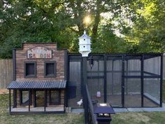 Old Town Saloon Chicken Coop