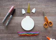 How to Make a Unicorn Christmas Ornament | I Heart Crafty Things