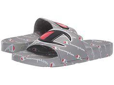 Cute Slides, Men Slides, Sandals Outfit, Fashion Sandals, Sneakers Fashion, My Champion, Champion Shoes, Gents T Shirts, Balmain Bag